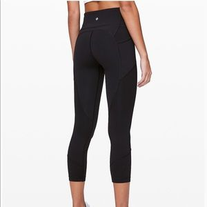 """Lululemon HR All The Right Places Crop II 23"""""""